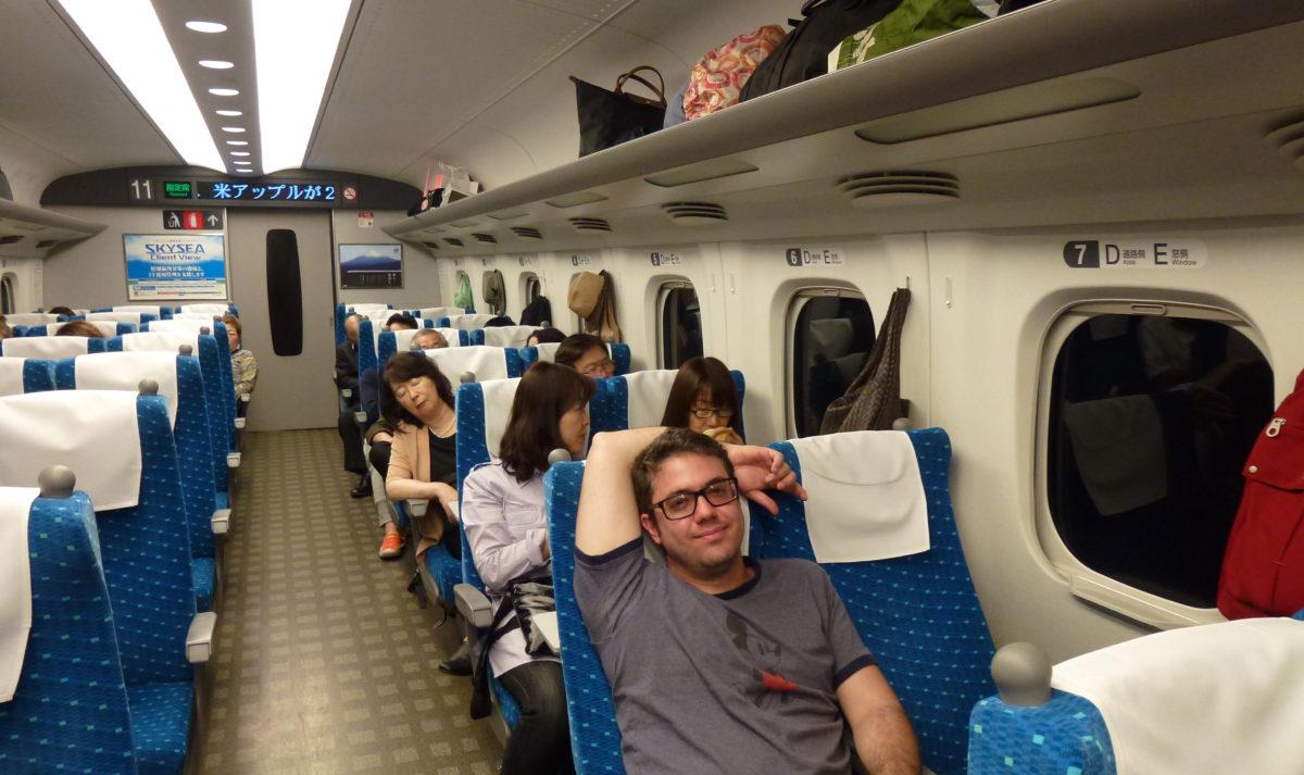 Trem Japão