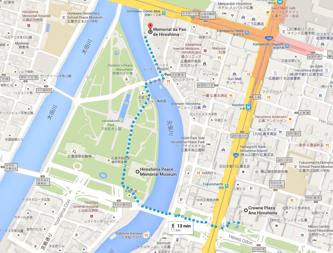 mapa-hiroshima-hotel