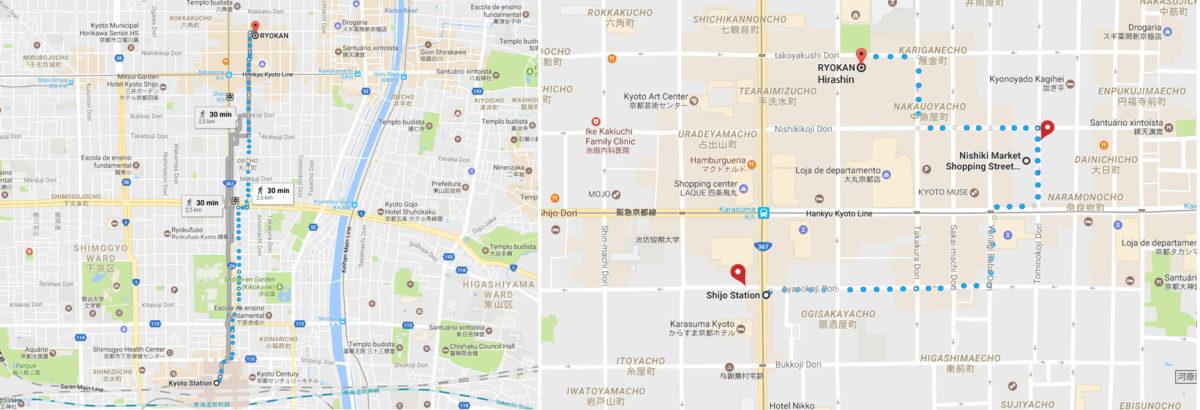 Hirashin Ryokan map 3