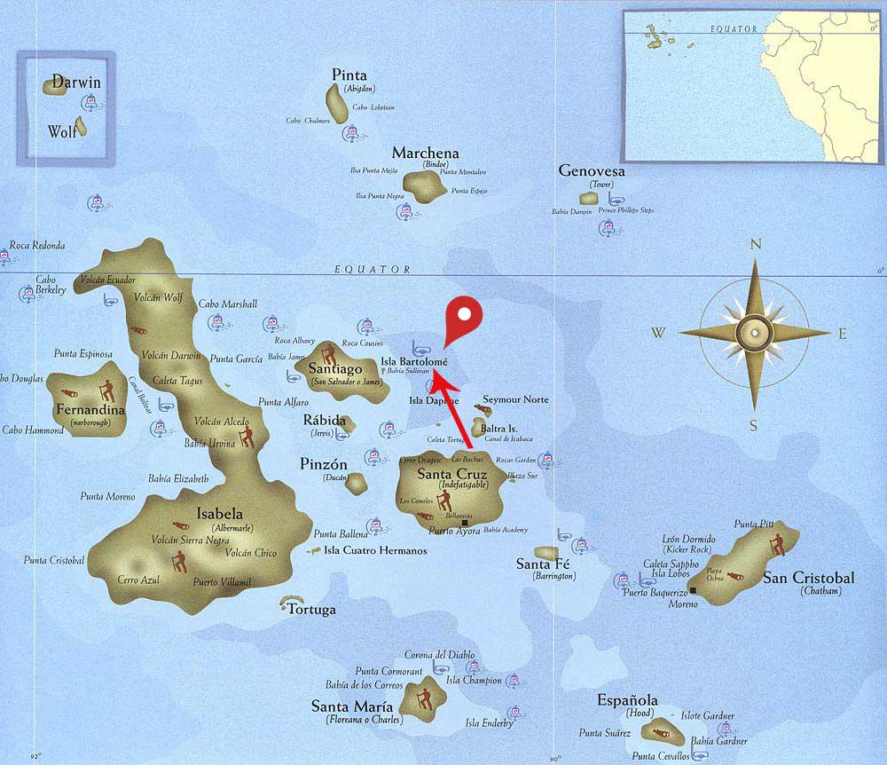 bartolome mapa