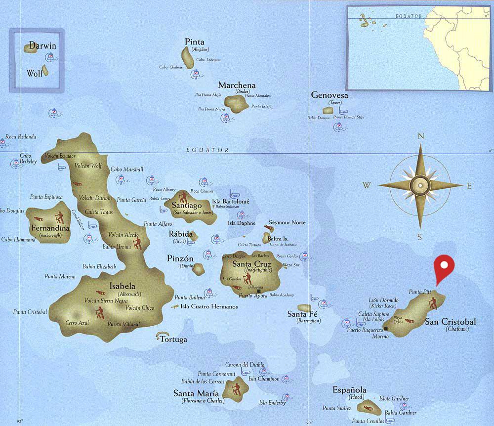 Leon Dormido mapa